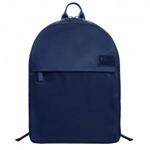 Lipault Dámský batoh City Plume M P61*002 14 l – tmavě modrá