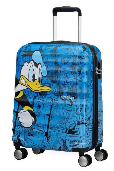 American Tourister Kabinový cestovní kufr Wavebreaker Disney Spinner 31C 36 l – Donald Duck