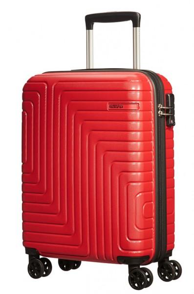 American Tourister Kabinový cestovní kufr Mighty Maze Spinner 53G 33 l – červená