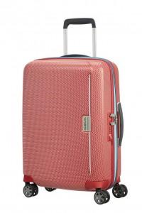 Samsonite Kabinový cestovní kufr Mixmesh Spinner CH6 37 l – červená