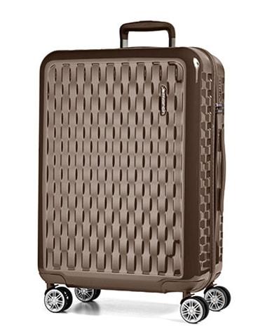 March Cestovní kufr Wave 75 l – světle hnědá