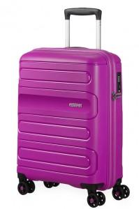American Tourister Kabinový cestovní kufr Sunside 51G 35 l – fialová