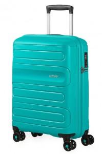 American Tourister Kabinový cestovní kufr Sunside 51G 35 l – tyrkysová
