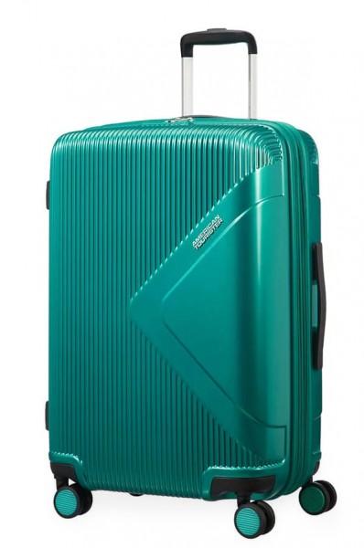 American Tourister Cestovní kufr Modern Dream EXP 55G 70/81 l – zelená