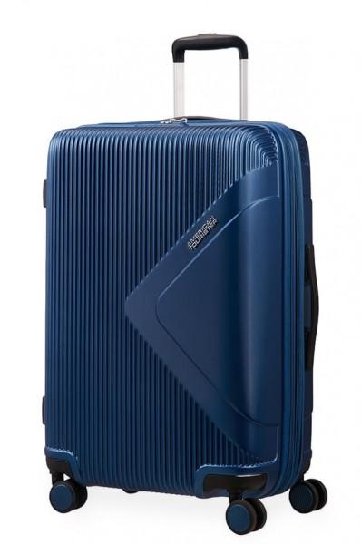 American Tourister Cestovní kufr Modern Dream EXP 55G 70/81 l – tmavě modrá