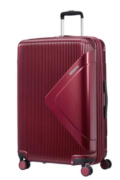 American Tourister Cestovní kufr Modern Dream EXP 55G 100/114 l – vínová