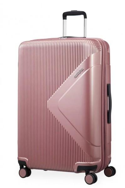 American Tourister Cestovní kufr Modern Dream EXP 55G 100/114 l – růžová