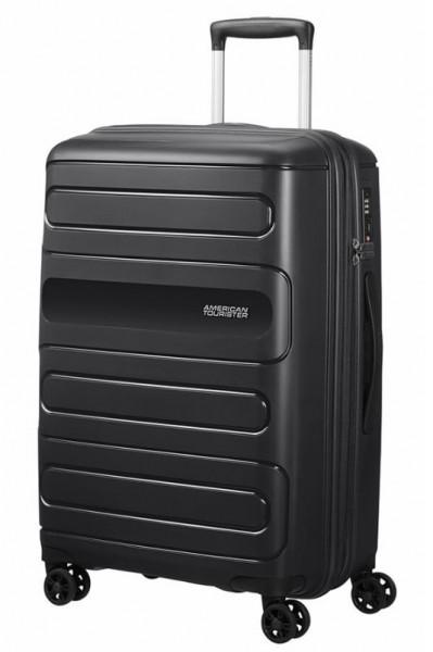 American Tourister Cestovní kufr Sunside 51G EXP 72,5/83,5 l – černá