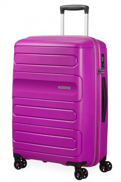 American Tourister Cestovní kufr Sunside 51G EXP 72,5/83,5 l – fialová