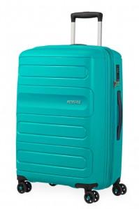 American Tourister Cestovní kufr Sunside 51G EXP 72,5/83,5 l – tyrkysová