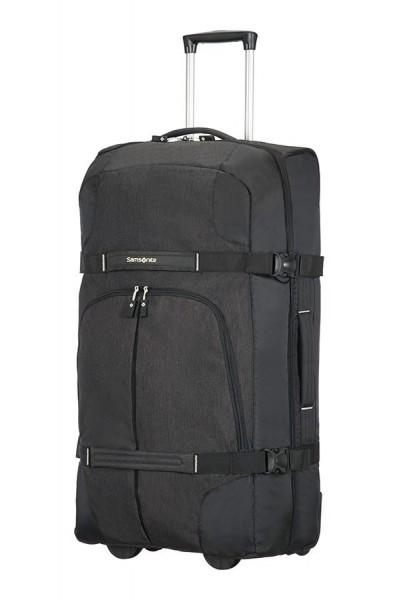 Samsonite Velká cestovní taška na kolečkách Rewind 113 l – černá