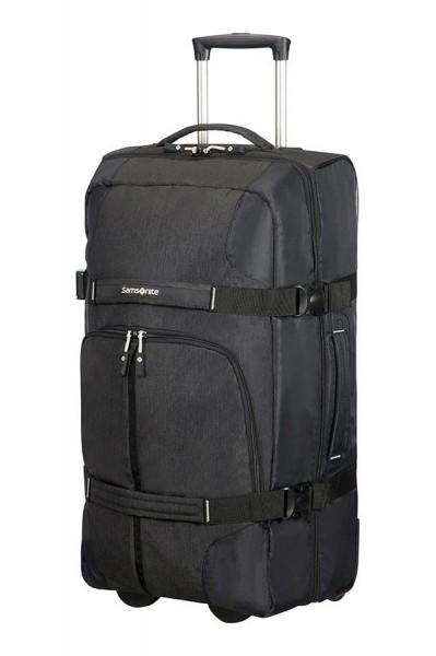 Samsonite Cestovní taška na kolečkách Rewind 72,5 l – černá