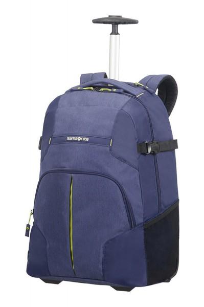 Samsonite Cestovní batoh na kolečkách Rewind 32,5 l – tmavě modrá