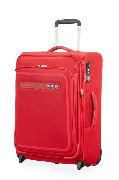 American Tourister Kabinový cestovní kufr AirBeat Upright EXP 45G 43/48 l – červená