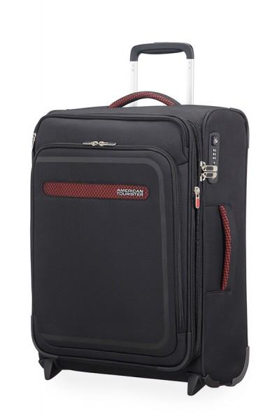 American Tourister Kabinový cestovní kufr AirBeat Upright EXP 45G 43/48 l – černá