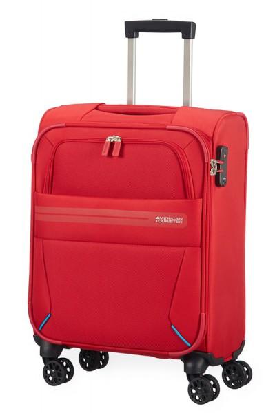 American Tourister Kabinový cestovní kufr Summer Voyager Spinner 29G 36 l – červená