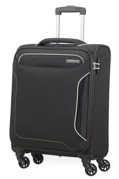 American Tourister Kabinový cestovní kufr Holiday Heat Spinner 50G 38 l – černá