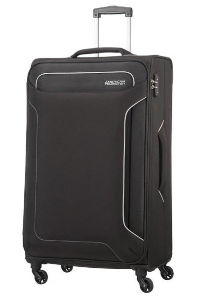 American Tourister Cestovní kufr Holiday Heat Spinner 50G 108 l – černá