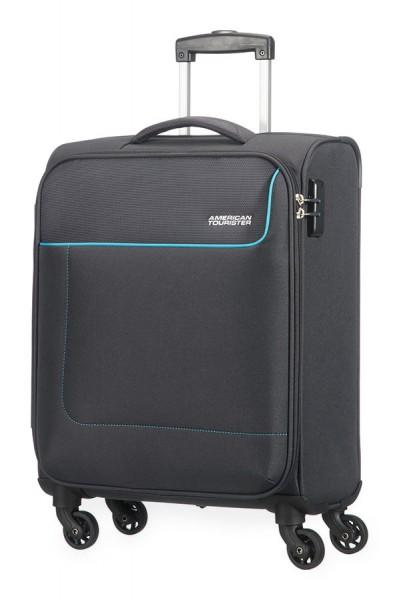 American Tourister Kabinový cestovní kufr Funshine Spinner 20G 36 l – černá