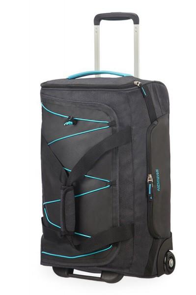 American Tourister Cestovní taška Road Quest 16G 42 l – tmavě šedá/tyrkysová