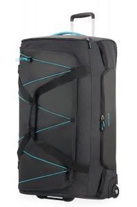American Tourister Cestovní taška Road Quest 16G 114 l – tmavě šedá/tyrkysová