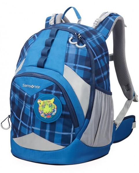 Samsonite Školní batoh Sam Ergofit M CH1 17,5 l – check tiger