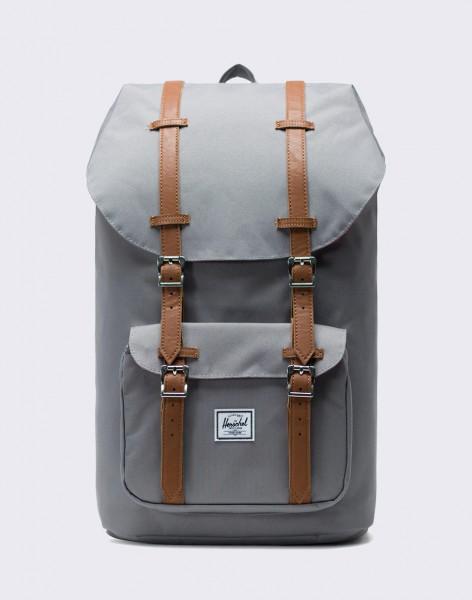 Batoh Herschel Supply Little America Grey/Tan Synthetic Leather 25l