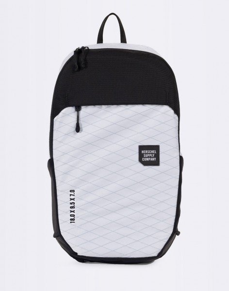 Batoh Herschel Supply Mammoth Medium Trail White/Black