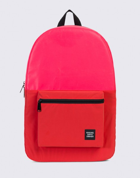 Batoh Herschel Supply Packable Daypack Neon Pink Reflective / Red Reflective