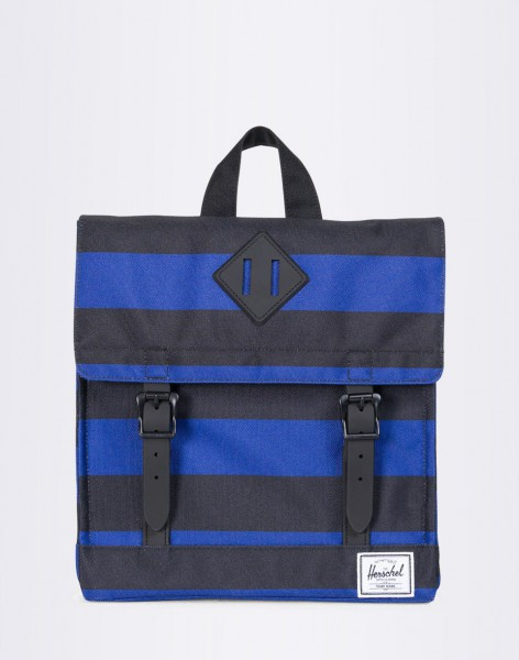 Batoh Herschel Supply Survey Kids Black/Surf the Web Stripes