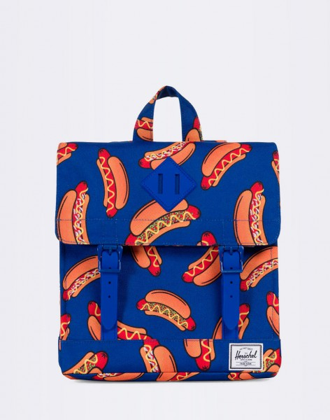 Batoh Herschel Supply Survey Kids Surf the Web Hot Dogs/Surf the Web Rubber