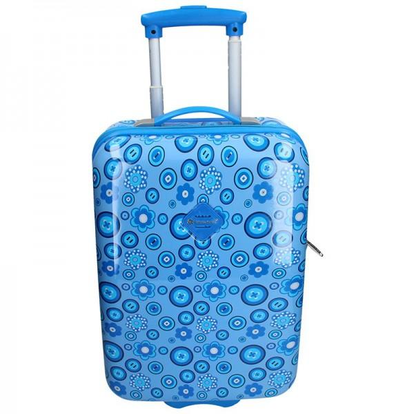 Palubní cestovní kufr Snowball Silva – modrá