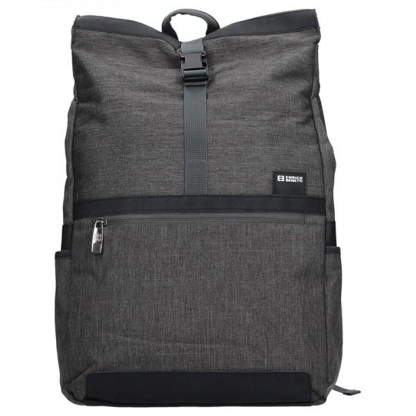 Pánský batoh Enrico Benetti Medard – šedá