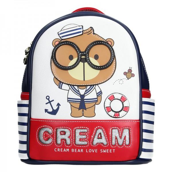 Trendy batoh Cream Bear Pavla