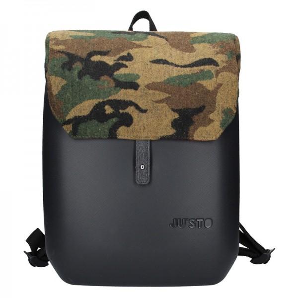 Dámský trendy batoh Ju'sto J-Back Army