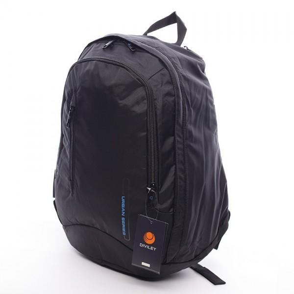 Černý moderní batoh Diviley Dion