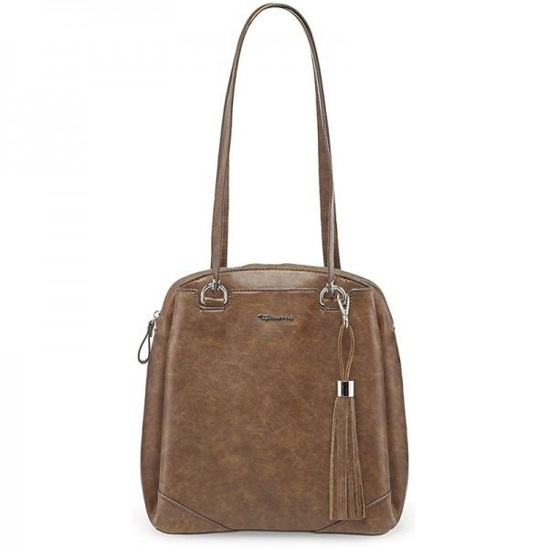 Dámská batůžko kabelka Tamaris Melaja – hnědá