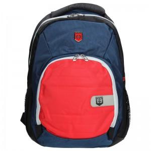 Moderní batoh Enrico Benetti 47071 – modro-červená