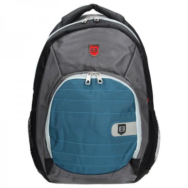 Moderní batoh Enrico Benetti 47071 – modro-šedá