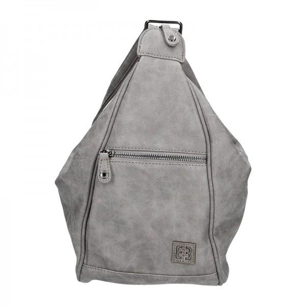 Moderní dámský batoh Enrico Benetti 66250 – šedá