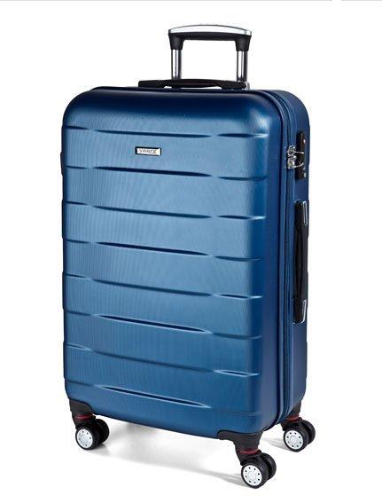 March Bumper L Dark Lake skořepinový cestovní kufr na 4 kolečkách TSA 77 cm