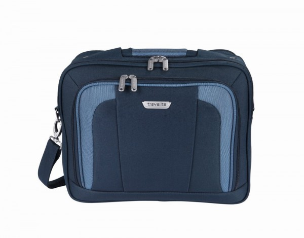 Travelite Orlando Boarding Bag Navy palubní taška přes rameno 38x29x18 cm 18 l