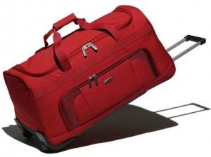 Travelite Orlando 2w Travel Bag Red univerzální cestovní taška na kolečkách 73 l