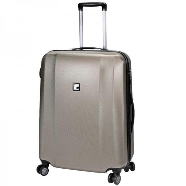 Titan Xenon 4w S Champagne palubní cestovní kufr na 4 kolečkách TSA 53x38x20 cm 2,4 kg