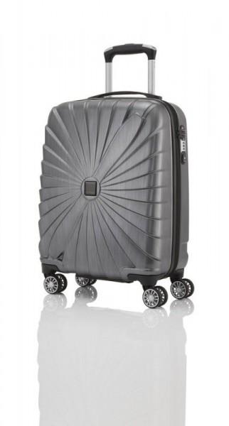 Titan Triport 4w S Anthracite palubní cestovní kufr na 4 kolečkách TSA 54x39x20 cm
