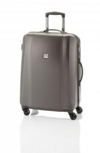 Titan Xenon Deluxe M Brown polykarbonátový cestovní kufr na 4 kolečkách TSA 67 cm