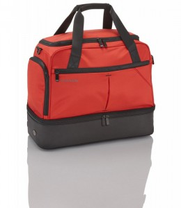 Travelite Flow Locker Bag Red odolná sportovní taška 39 l