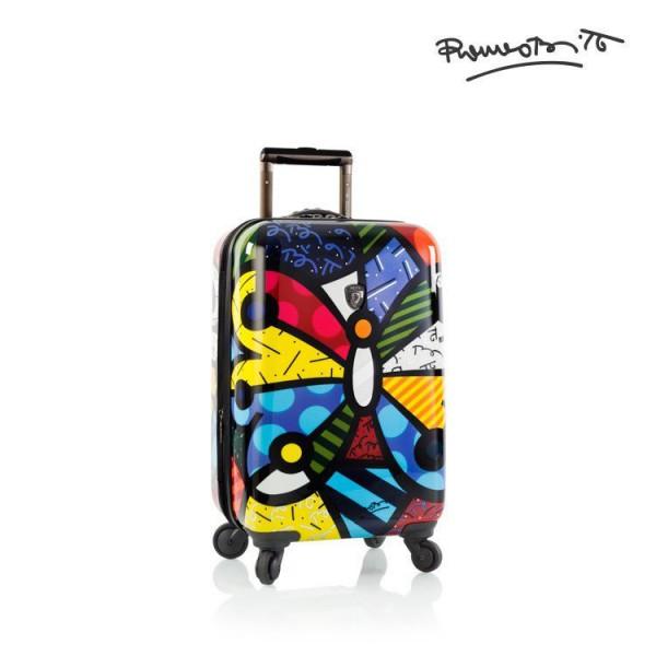 Heys Britto Butterfly S designový palubní kufr na 4 kolečkách TSA 53 cm