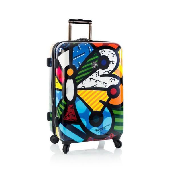Heys Britto Butterfly M designový cestovní kufr na 4 kolečkách TSA 66 cm