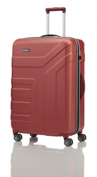 Travelite Vector 4w L Coral cestovní kufr na 4 kolečkách TSA 77 cm 103 l